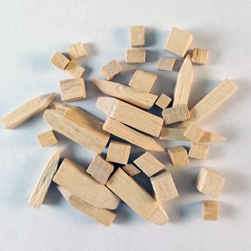 hardwood tumbling media