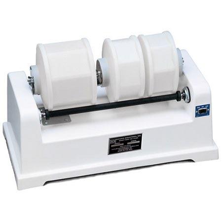 industrial barrel tumbler bench model